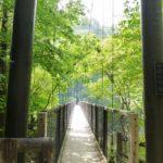 回顧の吊り橋・回顧の滝@那須塩原市をうろうろ ※19/6/6通行止め有