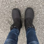 防寒ブーツ『ケベック』を履いて真冬ドラクエウォークしてみた